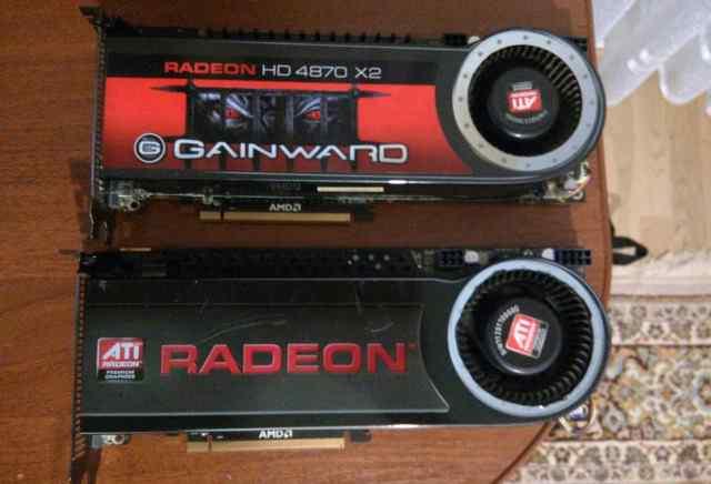 Нерабочии ATI Radeon HD 4870 X2