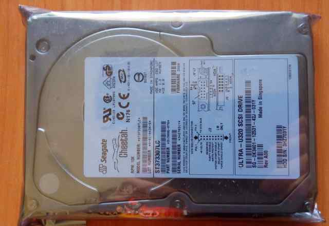 HDD Seagate ST373307LC