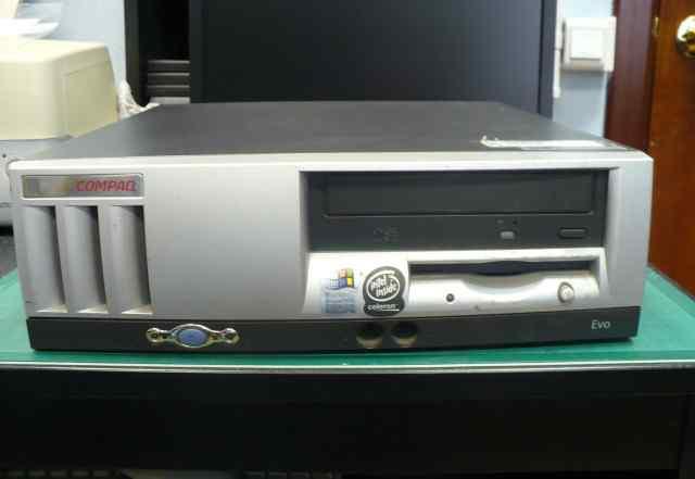 Настольный компьютер compaq EVO