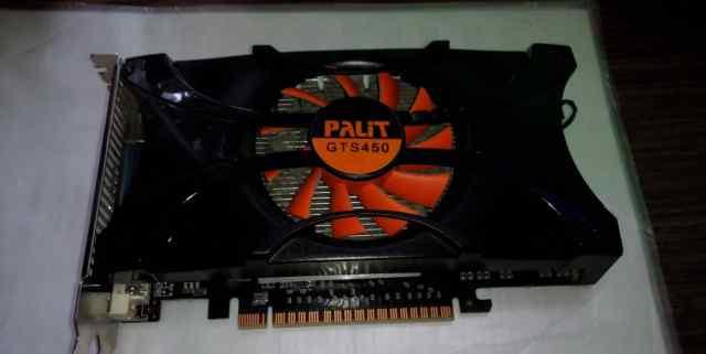 Видеокарта Palit GeForce GTS 450, gddr5, 1GB