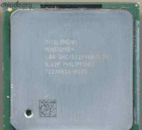 Pentium 4 1.8Ghz/512/400 - Socket 478 с кулером