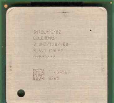Celeron 2Ghz/128/400 - Socket 478 с кулером
