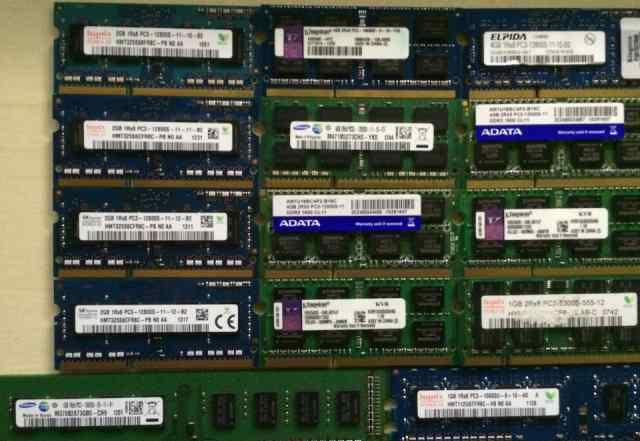 Память для пк и ноутбука, DDR3, DDR2