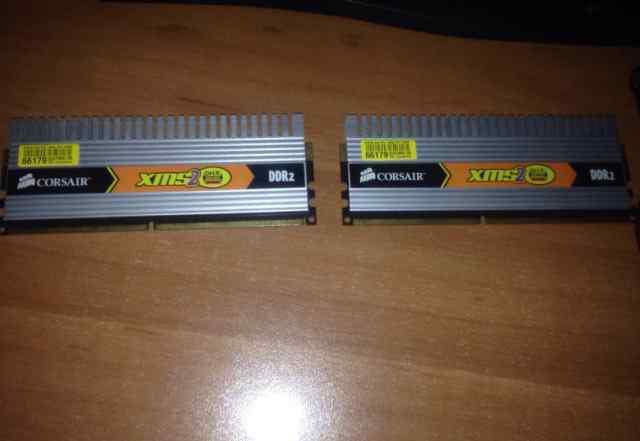 Corsair XMS2 DHX DDR2 1gx2