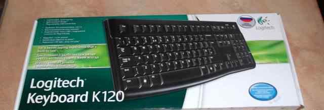 Logitech Keyboard K120 абсолютно новая