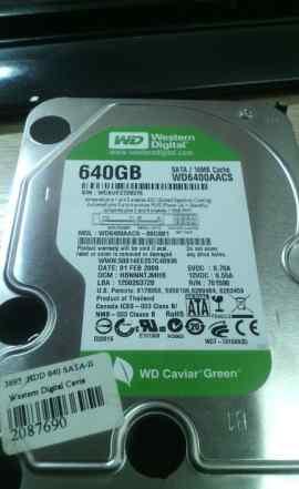 Жёсткий диск WD 640 Гб