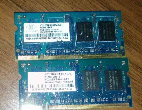 Nanya SO-dimm DDR2 512MbPC2-4200 533MHz