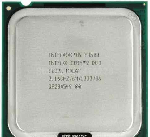 Core2duo E8500 lga775