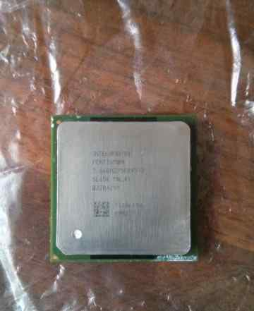 Intel Pentium 4 Processor 2.66 GHz, 512K Cache