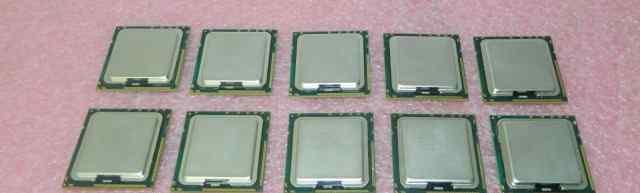 Лот 10 x Intel xeon X5570 slbf3 2.93GHz LGA 1366
