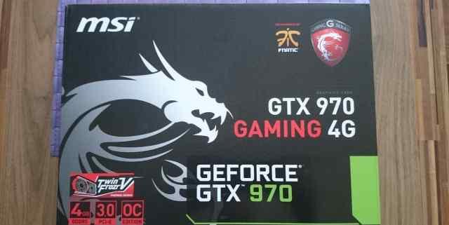 MSI Geforce GTX 970 новые, доставка