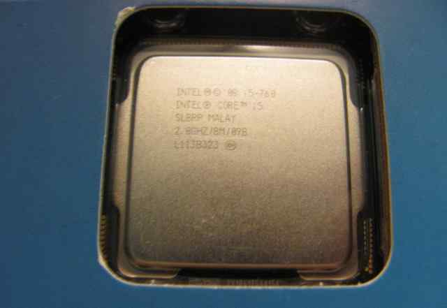 Intel Core i5-760 (2.8 GHz, 8Mb, LGA1156)