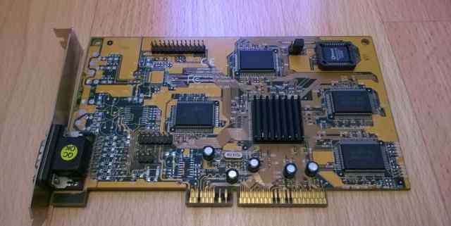 Tekram 3D Fire AGP-5000 (Riva128 4MB)