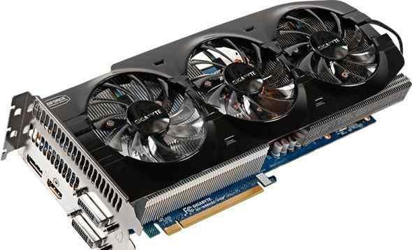 Gigabyte GeForce GTX 680 1071Mhz PCI-E 3.0 4ггб
