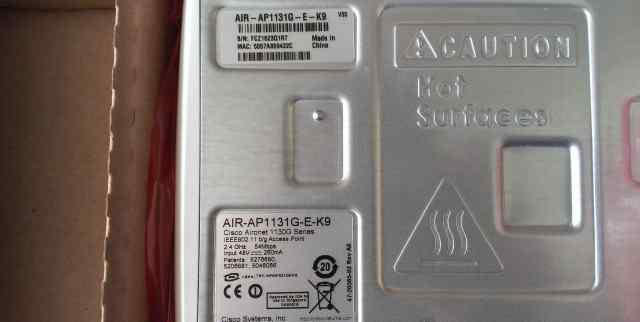 Точка доступа Cisco AIR-AP1131G-E-K9