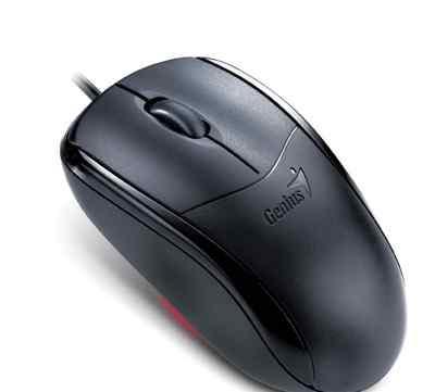 Мышь genius netscroll 110x black USB