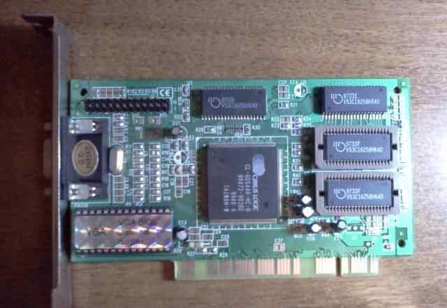 Оптом видеокарты PCI на чипе Cirrus Logic (2Мб )