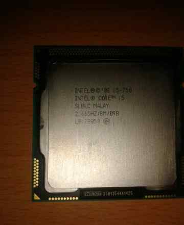 процессор intel core i5-750 2.66GHZ