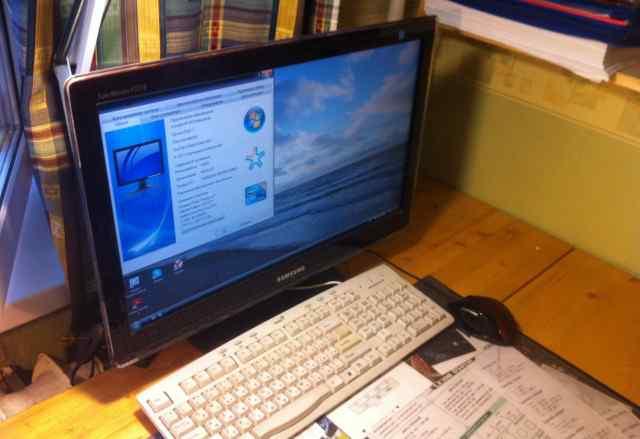 Процессор, монитор, клавиатура, мышь