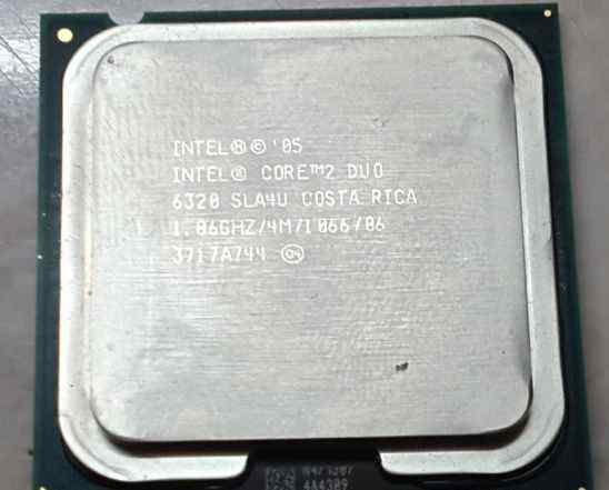 CPU Intel Core 2 Duo E6320 1.86 GHz