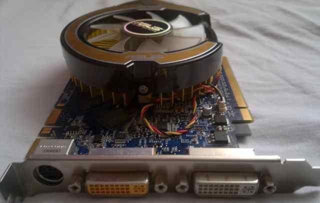 Asus EN9800GT HB / htdi / 512Mb не рабочая