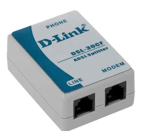 Сплиттер adsl D-link DSL-30CF/RS