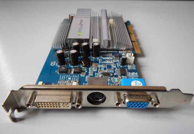 Видеокарта nvidia GeForce FX 5200 AGP 128 Мб