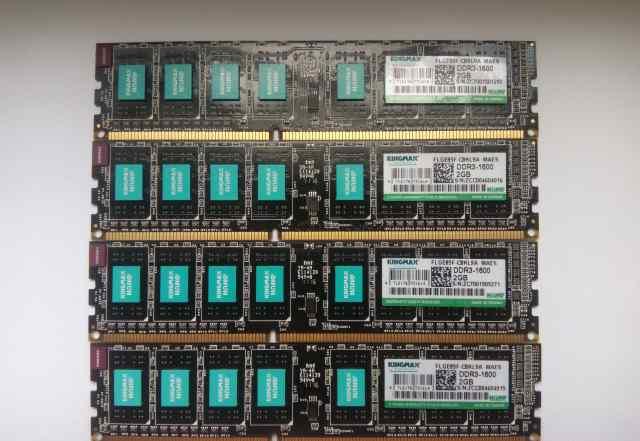 Оперативная память 8GB DDR3 - 1600