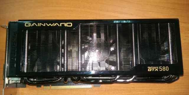 Gainward Phantom GTX 580 1536 мб