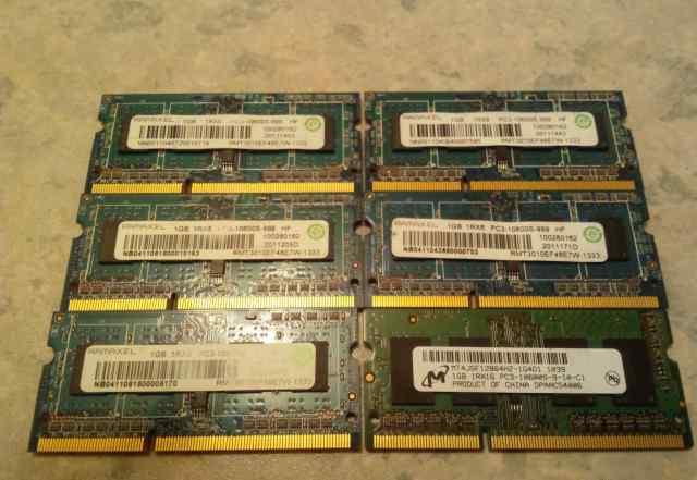 Модули памяти для ноутбука Ramaxel DDR3 1Gb