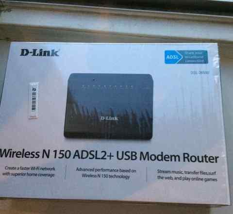 Wifi роутер d-link DSL-2650u