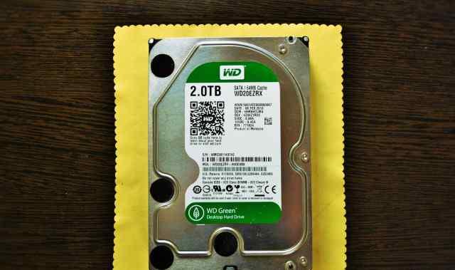 WD Green Desktop Hard Drive 2.0TB