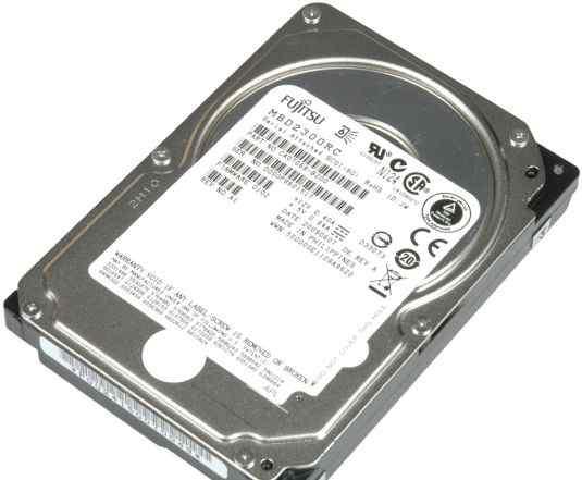 SAS диск 300gb Fujitsu MBD2300RC