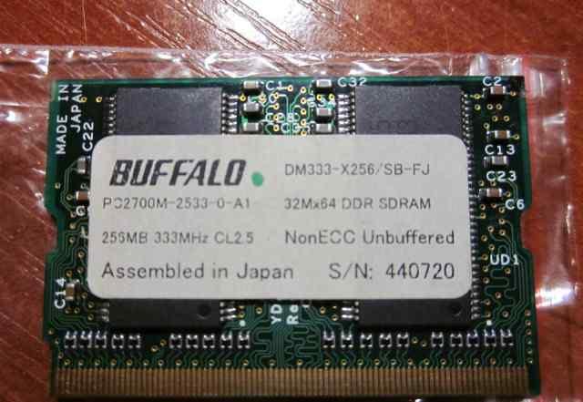 Microdimm DDR1 256Mb