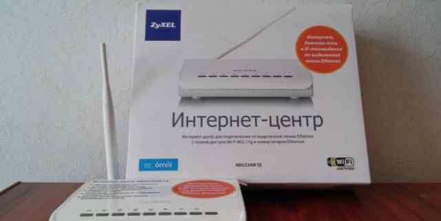 Маршрутизатор Zyxel NBG334W EE802.11g