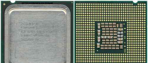 Intel pentium d 915
