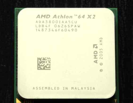 Двухъядерный процессор AMD Athlon 64 X2 3800+