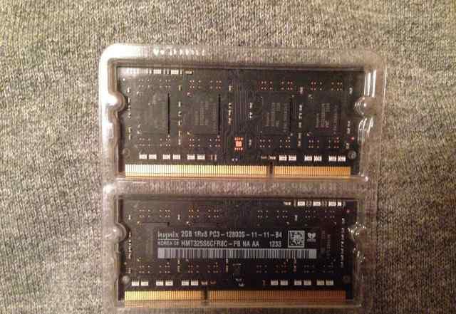 Оперативная память SO-dimm DDR3 4 Gb (2x2Gb)