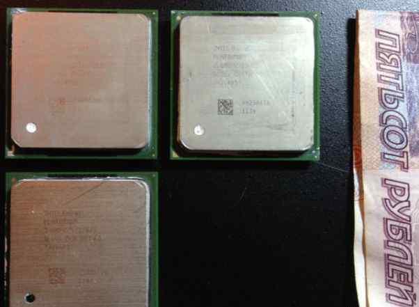 Процессоры s478 Pentium4 2.8/512/800 и 2.8/1/533