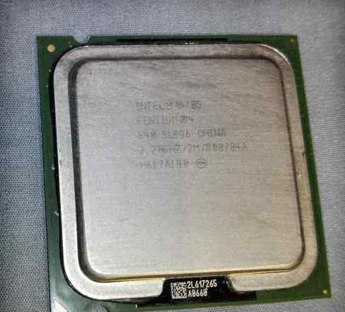 Процессор. Intel Pentium 4 640 SL8Q6 (socket 775)