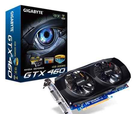 Видеокарта nvidia GeForce GTX460 (GV-N460OC-1GI)