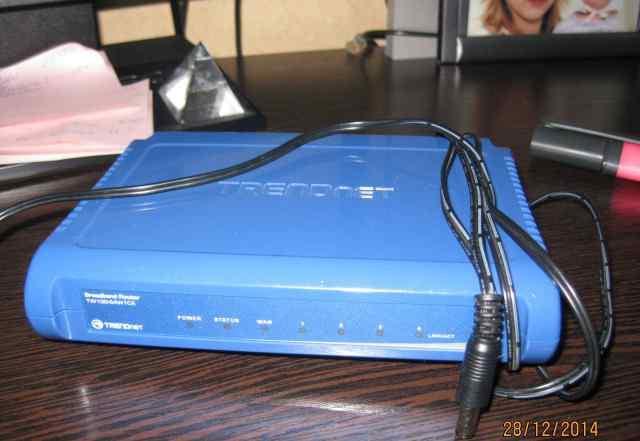 Маршрутизатор trendnet TW100-S4W1CA