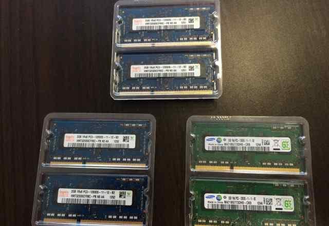 Оперативная память RAM 2gbx6