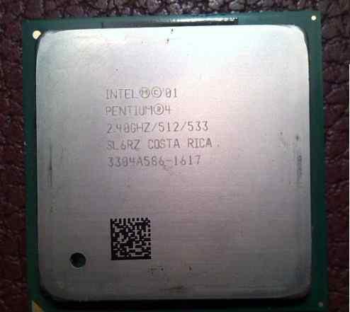 Процессор Pentium 4 2.4 GHz Nortwood S478 SL6RZ