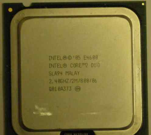 Intel Core 2 Duo E4600 2400MHz LGA 775