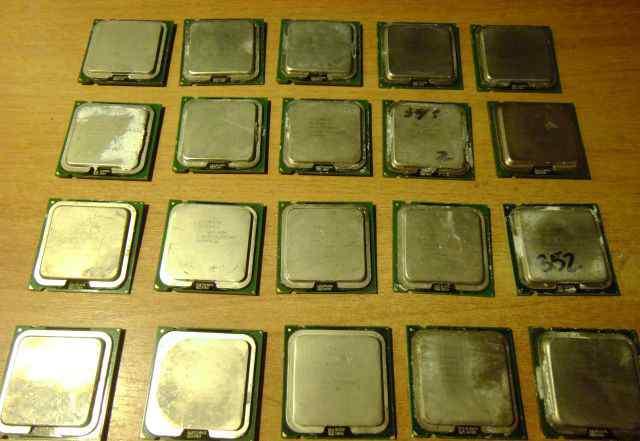 Процессоры 775 soket, Pentium 4, Celeron