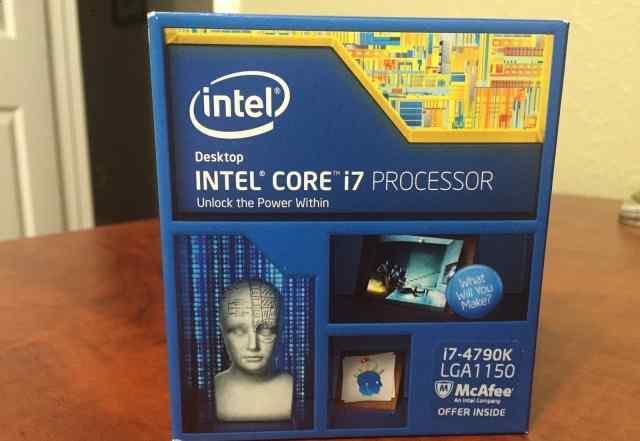 Intel Core i7 4790K не открывали, много