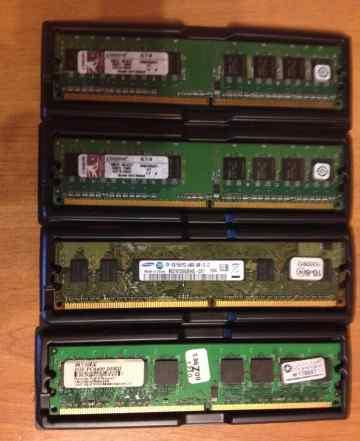 Оперативная память типа DDR2-800 и Kingston KVR667