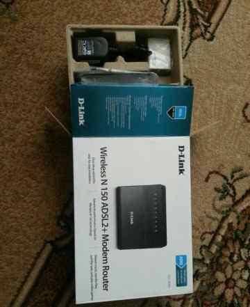 Wi-fi роутер D-link dsl 2640 u