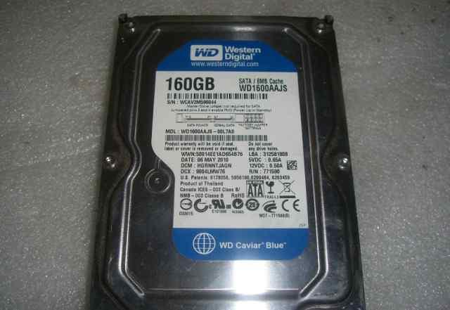HDD 160 Gb SATA-II 300 WD1600aajs 3.5